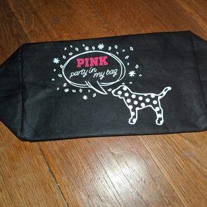 Pink Victoria secret make up bag